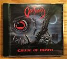 Obituary - Cause Of Death (Signed by James Murphy) Roadrunner Records RR 9370-2