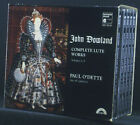 5-cd-box John Dowland - Complete Lute Works, Volume 1-5, Paul o' Dette