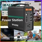 Suaoki Portable Power Station 150Wh Quiet Gas Free Camping Generator Power Pack