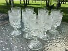 11~ Anchor Hocking Wexford Wine/Juice/Sherry Footed  Glasses