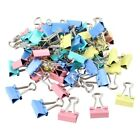 60PCS Lot Metal Assorted Colored File Paper Binder Clips 25 x 15 x 6mm A1S7