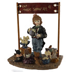 Boyds Bears Amazing Bailey Magic Show at 4 Limited Edition Dollstone 3518