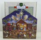 Byers Choice Wooden Christmas Traditions Advent House Calendar Musical Nativity