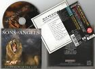 SONS OF ANGELS Slumber With The Lion CD 2001 JAPAN + OBI 1 PRESS