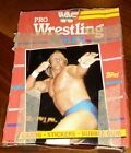 1985 BOX OF 32 PACKS OF WWF PRO WRESTLING STARS PICTURE CARDS,TITAN SPORTS,TOPPS