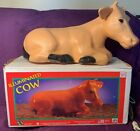 General Foam BLOW MOLD Nativity Piece ILLUMINATED COW in BOX