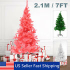 7FT Christmas Artificial Tree Xmas Indoor Outdoor Green Tree Decor W Stand