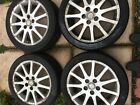 4 x Lexus IS200 2005 Alloy Car Wheels with Good Tyres