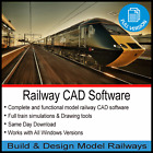 RAILWAY CAD SOFTWARE DESIGN  BUILD MODEL TRACK LAYOUT PLANS HORNBY OO GUAGE