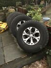 Mitsubishi L200 17inch Alloy Wheels With 35inch Tyres Jap Fitment