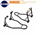 SPORT BIKE MOTORCYCLE WHEEL LIFT STANDs FRONT And REAR SWINGARM SPOOL Hi-Grade