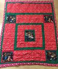 Nativity Mary Joseph Jesus God HANDMADE Quilt blanket wall hanging Christmas