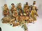 1983 Heirloom Collection Fontanini Nativity Set 12 16 Piece