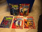 1991 THE UNCANNY X MEN Action Figures LOT of 5 Wolverine Storm Magneto