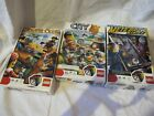 Set of 3 Lego Games - Pirate Code, Lego City, Lego Meteor Strike