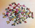 LOTq NEW 100 MIX COLOR DESIGN CHARMS JEWELRY CRAFT CARDMAKER finding scrapbook