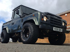 LARGER PHOTOS: 05 TD5 Land Rover Defender 90 Pickup 2.5l BMW engine Electric Windows Chipped