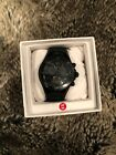 Michele All Black Jelly Beans Watch