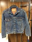 Vtg LEVIS Woman Large 57514 0766 Denim JEAN Jacket Made in USA