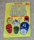 1966 Donruss MARVEL SUPER HEROES Unopened Pack WAX BOX FRESH! Marvelmania HULK