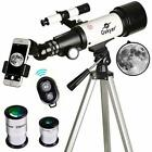 Astronomy Telescope for Beginner Kid Adult Space Stargazing Moon Lunar 70mm Best
