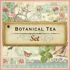 Graphic 45 Botanical Tea 12x12 Double Sided Cardstock Paper 12 Sheet Set