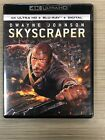 Skyscraper (4K Ultra HD/ Blu-Ray) FREE Shipping Dwayne Johnson Neve Campbell