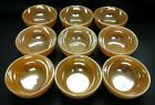 9 VINTAGE OVEN FIRE KING WARE CEREAL/SOUP/SALAD BOWLS PEACH LUSTERWARE USA