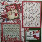 New Jolly Old St Nick Christmas 2 pre made 12x12 scrapbook pages thebigbluebarn