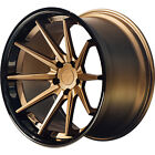 20x105 Bronze Black Ferrada FR4 Wheels 5x425 +38 Fits Jaguar XKR S XFR S