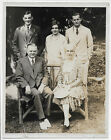 ORIGINAL 8x10 Press Photograph President Herbert Hoover with First Lady