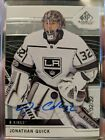 Jonathan Quick Rookie Cards and Autograph Memorabilia Guide 11