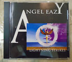 ANGEL EAZY - Lightning Strikes CD (1996 / 16 trks / Criminal CRS 02 / Hard Rock)