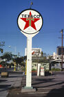 Texaco Gas Station Sign San Diego CA California 1979 View 8x12 photo