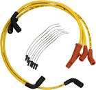 ACCEL YELLOW SPARK PLUG WIRES HARLEY M8 MILWAUKEE ELECTRA GLIDE ROAD KING STREET
