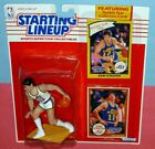 1990 JOHN STOCKTON Utah Jazz NM+ * FREE s/h * Starting Lineup + 1984 bonus card
