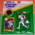 1991 JEFF GEORGE sole Indianapolis Colts NM- Rookie * FREE s/h * Starting Lineup