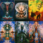 Digital Print Tapestries Subliminal hippie trippy blanket wall hangin bed sheets