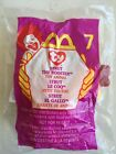Ty Teenie Beanie Babies #& STRUT THE ROOSTER - In the Bag - Ronald McDonald's