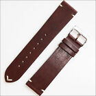 Horween Watch Strap, Watch Band with Vintage-Style Brown Calfskin Leather