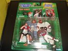 Steve Young / Jerry Rice 1998 Starting Lineup Classic Doubles 2 Figures Helmets