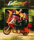 FALL 1983 HARLEY-DAVIDSON ENTHUSIAST MAGAZINE -1984 HARLEYS-XR1000-V2 EVO ENGINE