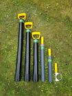 Gold Panning Light Weight Dredge Crevice Pumps and Dredge Pump Support handles