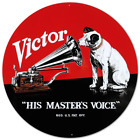 RCA Nipper Victor Record Phonograph Tin Sign 14 x 14in New Free Shipping