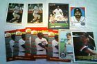 KIRK GIBSON 1986 donruss box bottom tigers + 5 insert + 3 stickers + 2
