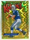 Peyton Manning 2018 Panini Rewards Exclusive KABOOM! GOLD #'d 9 10 - COLTS