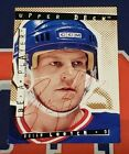 1994-95 Upper Deck Be A Player Brian Leetch Rare SP Auto New York Rangers
