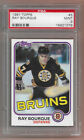 1981 82 Ray Bourque Topps #5 Graded Mint PSA 9