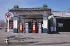 Texaco Service Station Sky Fire Chief Gas Pumps Marietta OH 1978 View 8x12 photo