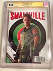 CGC SS 9.8 Smallville Magazine #31 Variant signed by Justin Hartley Green Arrow